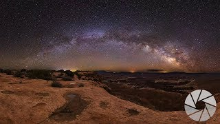 Cliff edge Milky Way Photography at Canyonlands National Park in Moab, Utah   Milky Way Wednesday