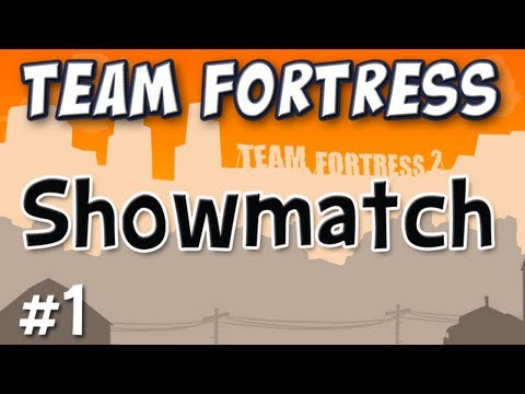 Yogscast - Team Fortress 2 Celebrity Showmatch Match 1 of 2