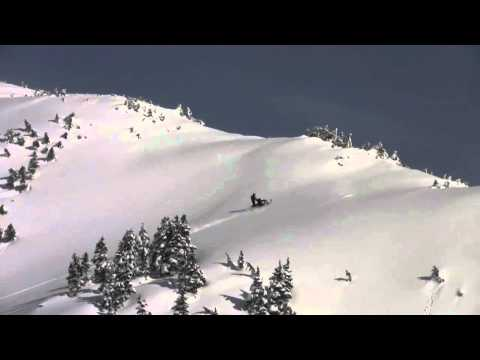 Hill Climb on 2010 Arctic Cat M8 Sno Pro