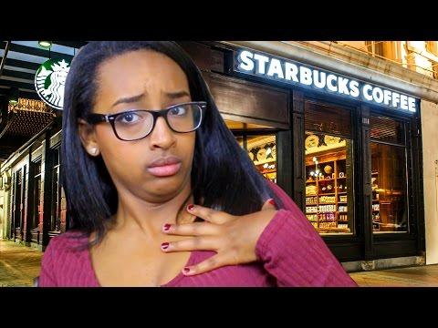 GROWN WOMAN TRIES TO FIGHT ME AT STARBUCKS?!