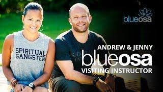 Blue Osa Visiting Instructors: Andrew & Jenny
