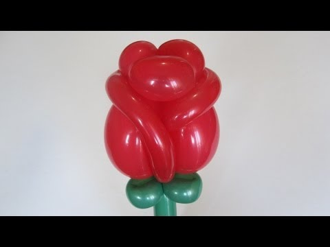 Как сделать розу из шаров шдм - Foto-lis.ru