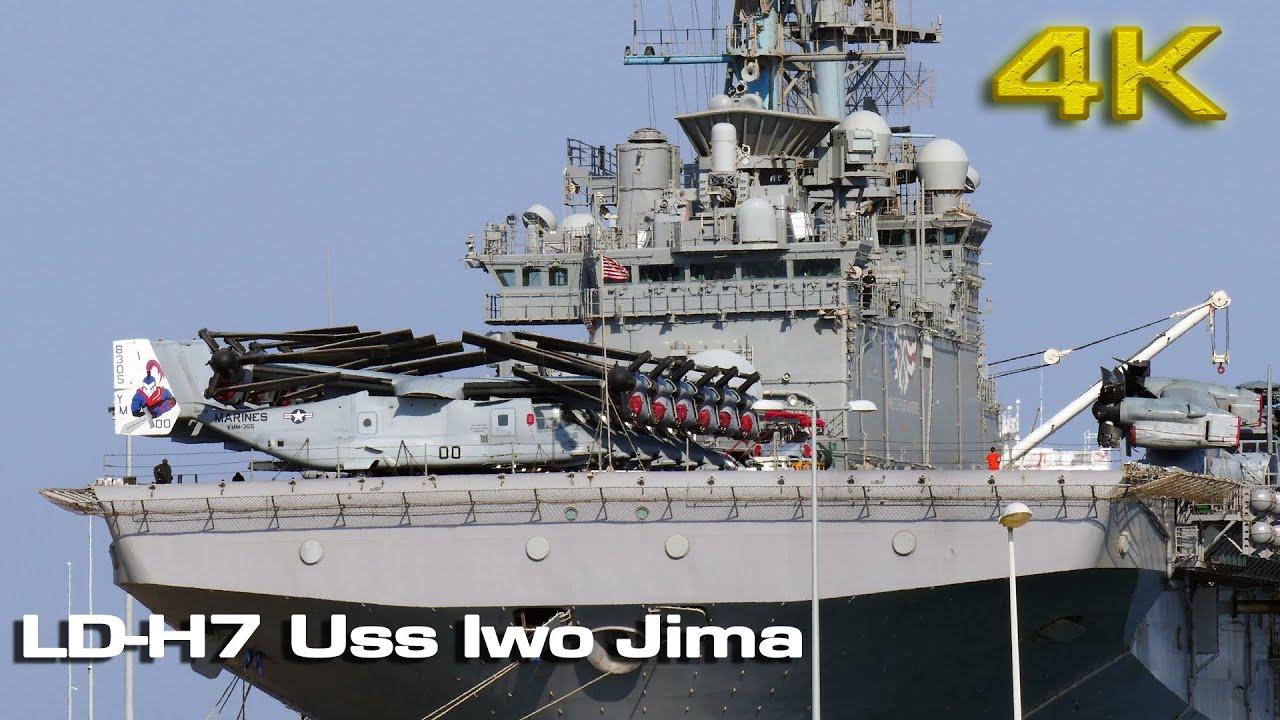 Uss Iwo Jima at Valencia