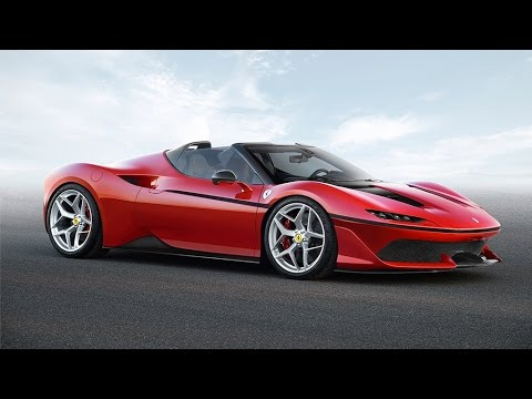 Only 10 people will be able to buy Ferrari's new supercar - the J50