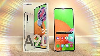 "Samsung Galaxy A90 5G ""EPIC FUSION"" - UNBOXING & FIRST LOOK!"