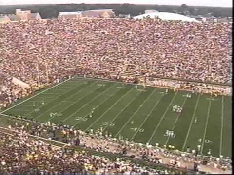 2006: Michigan-47 Notre Dame-21 (PART 1) Video