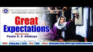 NOVEMBER 2014 HOLY COMMUNION SERVICE