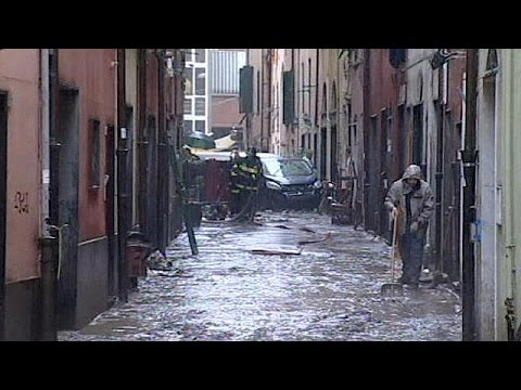 Italy: One dead in Genoa after flash floods sweep through city