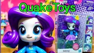 My Little Pony Equestria Girls Minis Rarity School Spirit MLP Zapcode QuakeToys