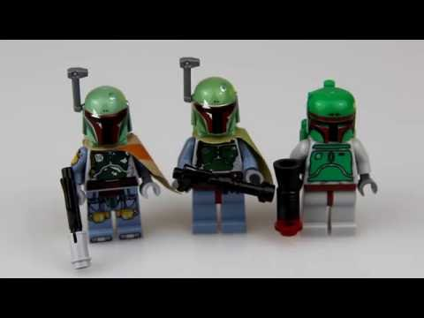 Рубрика Сравнения 6: Лего Минифигурки Бобы Фетта!