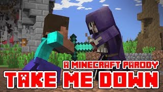 "Download Lagu Minecraft Song and Videos ""Take Me Down"" A Minecraft Parody of Drag Me Down By One Dirrection Gratis STAFABAND"