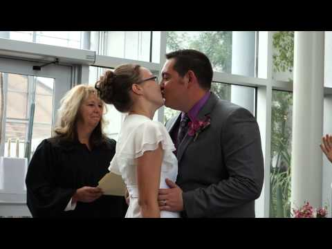 Josh And Katie's First Kiss As Husband And Wife video