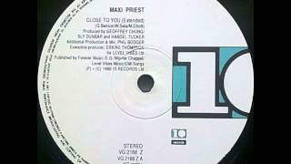 Maxi Priest Close To You 12 39 39 Extended Version
