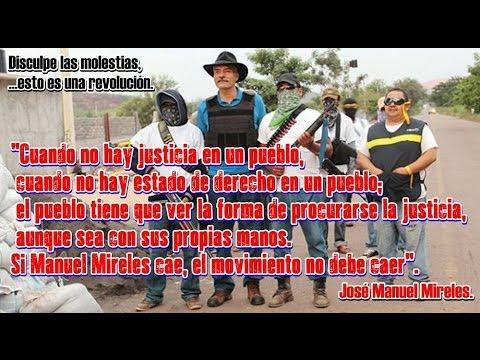 1 año de lucha. ¡Qué vivan las Autodefensas de Michoacán #AutodefensasDignidad