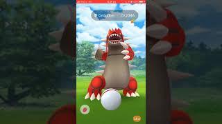 Pokémon Go - Level 5 Raid - Groudon