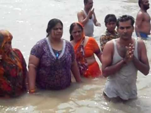 Ganga Snan With Family