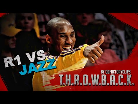 Throwback: Kobe Bryant 2009 Playoffs 1st Round Full Highlights vs Utah Jazz (HD 720)