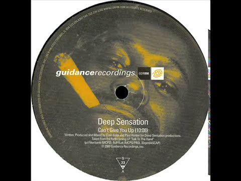 Deep Sensation  -  Can't Give You Up