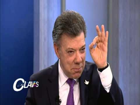 Presidente Juan Manuel Santos debatió en Canal Capital con Antonio Caballero y María Elvira Samper
