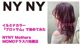 【NYNY】イルミナカラー『ブロッサム』で染めてみた【MOMOテラス六地蔵店】