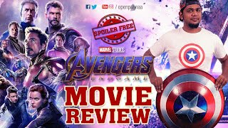 Avengers: End Game Movie Review | Vj Abishek | Open Pannaa