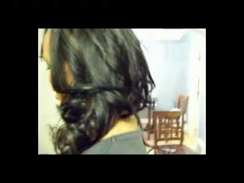 Full Sew-in Weave w/Invisible Part (NO Glue) & Side Bang Install