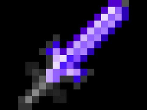 Как сделать супер меч в майнкрафт