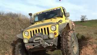 Jeep Wrangler Rubicon V6 & Land Rover Discovery TD5  **extreme offroad** 09/02/2014