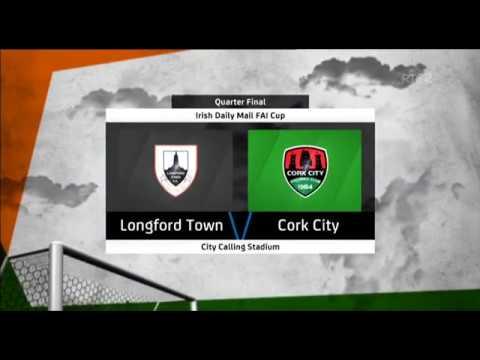 HIGHLIGHTS: Longford Town 0-7 Cork City