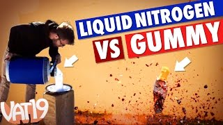 Eye Candy: Liquid Nitrogen vs. Gummy