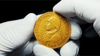 Unique 1792 George Washington $10 Gold Eagle Pattern Coin