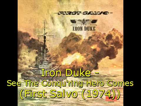 Iron Duke - See The Conqu'ring Hero Comes (first Salvo (1974)) video