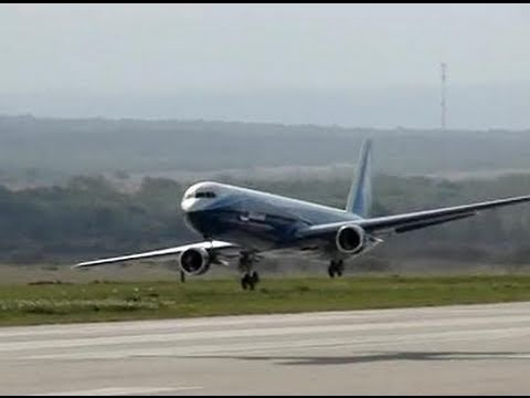 Giant Boeing 767 - RC Jet Turbine Power - Full Flight