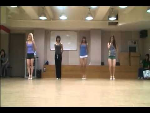 Sistar Shady Girl Dance mirror