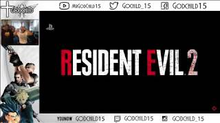 Wait! This is Real?! Resident Evil 2 Remake E3 Live Reaction