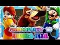 Mario Party 10 - Part 2 (1080p 60FPS) - Haunted Trail w/Facecam