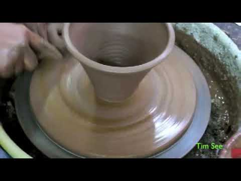 Small Bowl Pottery Wheel Throwing