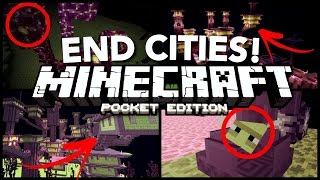 MCPE 0.17.0 - HOW TO FIND END CITIES! // END CITIES in Minecraft PE 0.17.0 [MCPE 0.17.0 / 1.0]