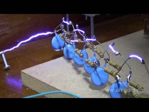 Резонансный трансформатор теслы своими руками