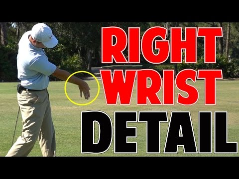 MORE GOLF SWING SPEED   Right Wrist In Crazy Detail