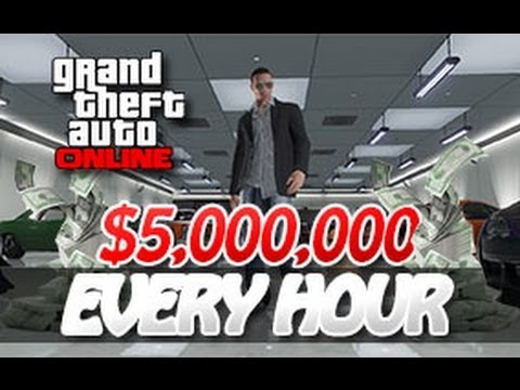 GTA 5 Online - How to Make $5,000,000 + 1,000,000 RP Every Hour (Voice Tutorial) [GTA V]
