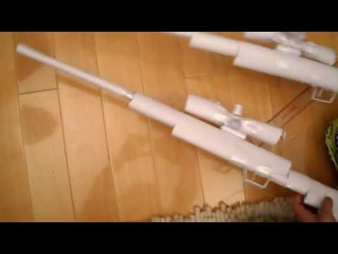 How to make a Paper Sniper Rifle Tutorial Easy