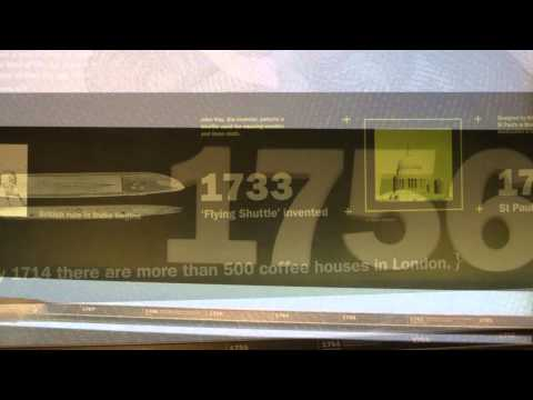 Sense Media Social Links Dream London Museum Timeline