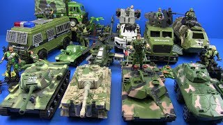 Military Toys Tanks Soldiers Helicopter Trucks Toys For Kids ! Guns & Weapons Toys-Box of Toys