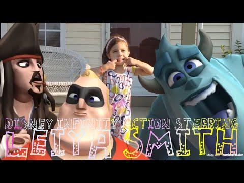 Disney Infinity Action! Starring Leiya Smith