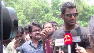 Vishal Paayum Puli Relase Issue - I Will Give My Life To Release The Movie - Vishal Emotional Talk