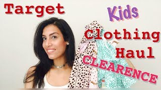 Target Kids Clothing Haul | CLEARANCE