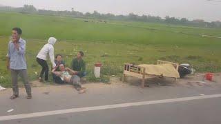 Vlog Đi vào tỉnh Nghệ An nhìn thấy tai nạn giao thông nghiêm trọng video chia sẻ A DI ĐÀ PHẬT