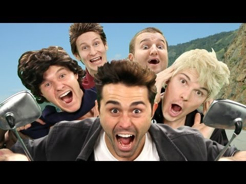 One Direction - kiss You Parody video