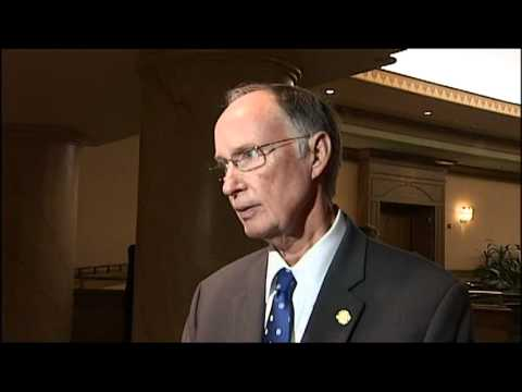 Web Extra - Robert Bentley Speaks with CBS42